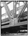 VIEW OF LOWER CHORD CONNECTION, PANEL POINT C - Bridge No. 18, Spanning Kickapoo River, La Farge, Vernon County, WI HAER WIS,62-LAFA.V,1-8.tif