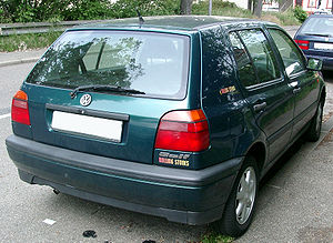 VW Golf III rear 20070522.jpg