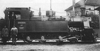 Saxon V K class of 9 German 0-8-0T locomotives