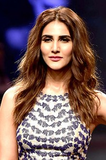 Vaani Kapoor walked the ramp at the Lakme Fashion Week 2018 (03) (cropped).jpg
