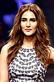 Vaani Kapoor walked the ramp at the Lakme Fashion Week 2018 (03) (cropped).jpg