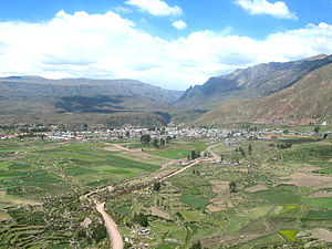 Chivay District - Chivay, Colca Canyon