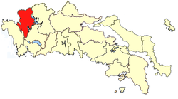 Location of Valtos Province