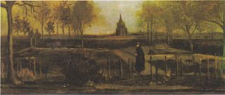 The Parsonage Garden at Nuenen