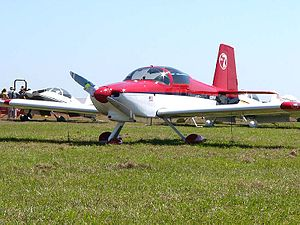 Van's Aircraft RV-7 - An RV-7A – the nose wheel equipped version of the RV-7 at Sun n Fun 2006