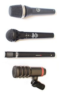 Sound reinforcement system wikipedia audio engineers use a range of microphones for different live sound applications fandeluxe Images