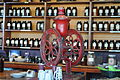 Vashon Island Coffee Roasterie - old coffee grinder 03.jpg