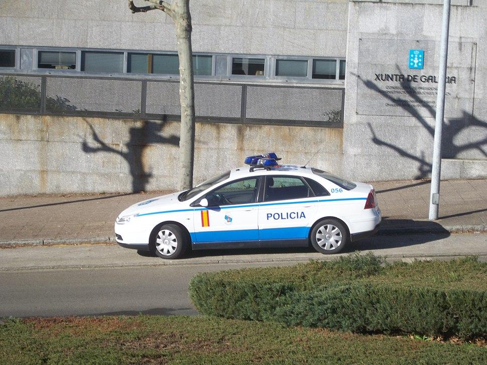Vehículo Policía Autonómica Galega