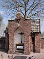 Venray Blitterswijck. kerkhof baarhuisje met kruisbeeld.JPG