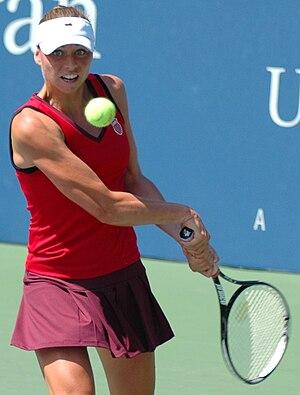 2010 WTA Tour Championships - Vera Zvonareva reached two grand slam finals in 2010.