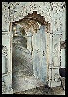 Via Dolorosa, beginning at St. Stephen's Gate. The Tomb, Fourteenth Station of the Cross LOC matpc.23181.jpg