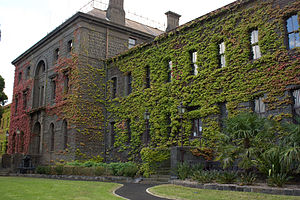 Southbank, Victoria - Historic Victoria Barracks.