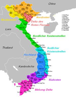 Malaria Kambodscha Karte.Vietnam Reiseführer Auf Wikivoyage