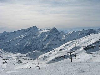 Passo dei Salati Mountain pass in Italy
