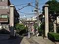 View from Hakusan Shrine (Bunkyo) - May 30, 2014.jpg