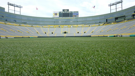 View of Lambeau Field