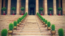 File:View of Rashtrapati bhavan.webm