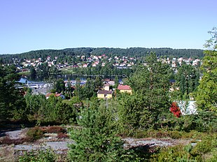 View over Bengtsfors