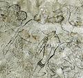 Villa le brache, ext, loggia, affreschi tardogotici con storie degli argonauti 10 ercole 3.jpg
