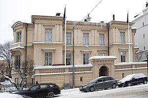 Royal Swedish Academy of Letters, History and Antiquities - Vitterhetsakademien, Villagatan 3 in Stockholm.