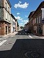 Villefranche-de-Lauragais - Rue de la République - Côté sud.jpg