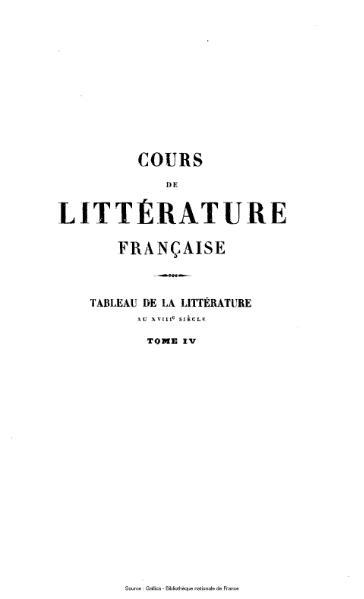 File:Villemain - Cours de littérature française, tome 4.djvu