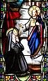 Villeréal - Église Notre-Dame - Vitrail avec apparitions -4.jpg