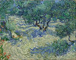 Vincent van Gogh: Olive Orchard