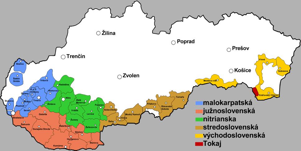 Vinohradnicke oblasti Slovenska