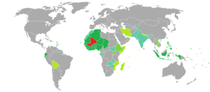 Visa requirements for Malian citizens - Image: Visa requirements for Malian citizens