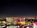 Vista nocturna de la Plaza de las tres Culturas.jpg