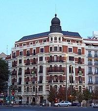 Viviendas para D. Manuel Bellido, Madrid (1900-1903)