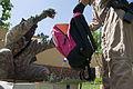 Volunteers sort, pack school supplies (4525643050).jpg