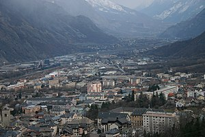 Saint-Jean-de-Maurienne - A general view of Saint-Jean-de-Maurienne