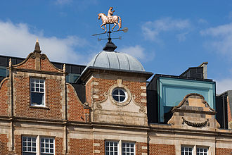 Whitechapel Gallery - Rodney Graham's Weathervane (2008) was commissioned for the new expansion