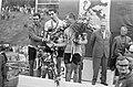 WK Wielrennen te Heerlen. Op podium Gayot (2), Webb (1) en Pijnen (3), Bestanddeelnr 920-6696.jpg