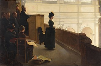 Henry Lerolle - The Organ Rehearsal (1887)