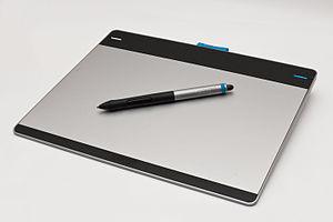Wacom (company) - Image: Wacom Intuos pen & touch M