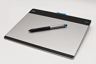 Wacom - Image: Wacom Intuos pen & touch M