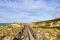 Walkway through the sand dunes in Cala Mesquida, Mallorca (47992236011).jpg