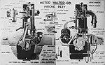 Walter 6 B, příčný řez (1928) B.jpg