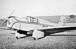 Walter Mikron a Beneš-Mráz Be-501 Bibi (1936).jpg