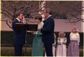 Walter Mondale swears-in Jim McIntyre as Director of OMB - NARA - 178499.tif