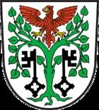 Das Wappen von Mittenwalde