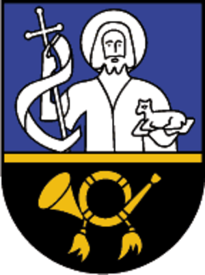 Klösterle, Austria - Image: Wappen at kloesterle