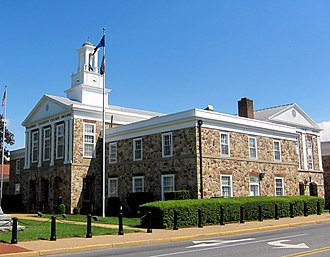 Warren County, Virginia - Image: Warren County Courthouse cropped