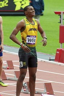 Warren Weir Jamaican sprinter