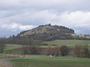 Wartberg, mit Tal der Ems im Vordergrund (von Süden)