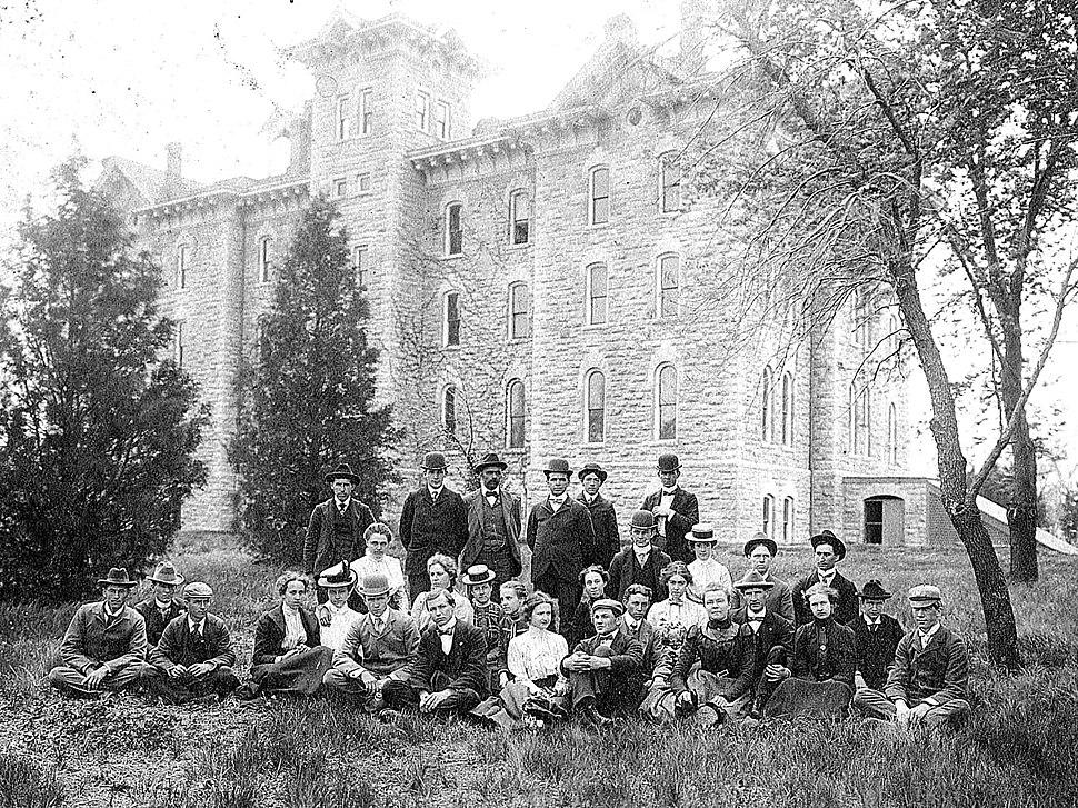 Washburn (Topeka, Kansas) Class of 1900, Rice Hall