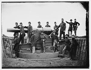 Union Army - Washington, District of Columbia. Officers of 3d Regiment Massachusetts Heavy Artillery (1865)
